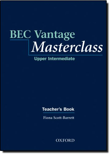 BEC Vantage Masterclass Teacher's Book