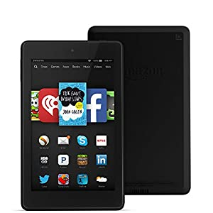 "Fire HD 6, 6"" HD Display, Wi-Fi, 16 GB - Includes Special Offers, Black"