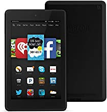 "Fire HD 6, 6"" HD Display, Wi-Fi, 8 GB, Black"
