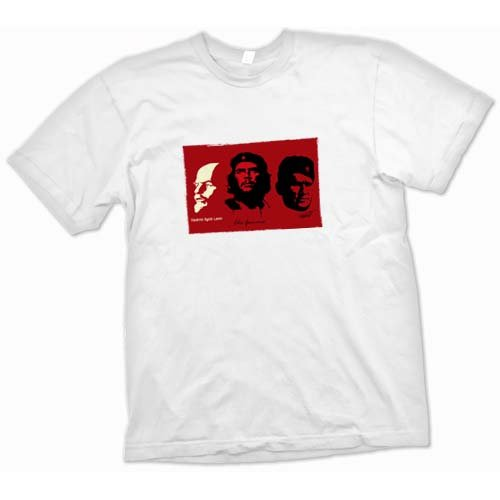 Communist Heros - Lenin Guevara T Shirt