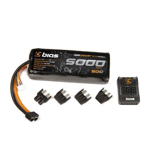 Bias 50C 3S 5000mAh 11.1V LiPo Battery with UNI Plug