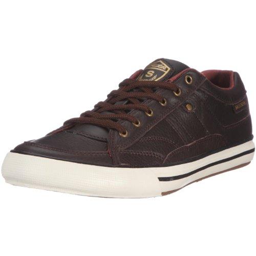 Skechers Men's Planfix Kano Half Shoe Brown UK 12