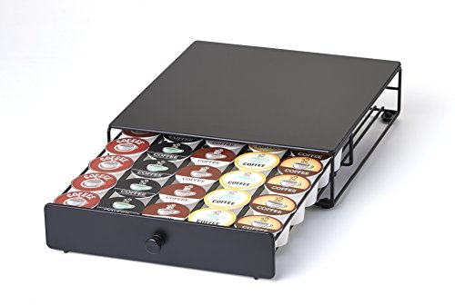 NIFTY 6406 Under the Brewer Storage Drawer for K-Cup Pods, Black (Keurig Cup Holder compare prices)