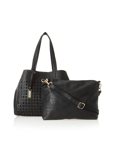 Urban Originals Women's Olivia Tote, Black, One Size
