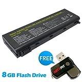 Battpit Recambio de Bateria para Ordenador Portátil Toshiba Satellite Pro L100-160 (4400 mah) Con memoria USB de 8GB GRATUITA