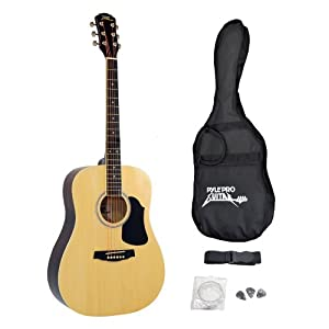 Pyle Pro PGA20 Professional Full Size Acoustic Guitar Package w/ Accessories available at Amazon for Rs.33734