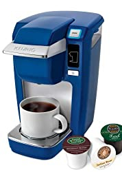 Keurig k10/b31 Mini Plus Cobalt Blue Single Serve Personal Brewer from Don's Vendor Account