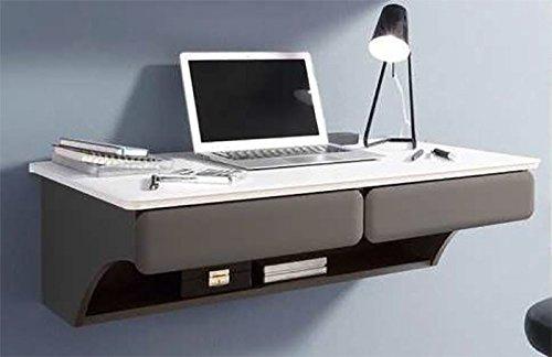 Desk-3-Schreibtisch-hngend-Bro-Tisch-wei-grau