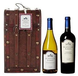 Downton Abbey Old World Wine Box Gift Set 2 x 750 mL