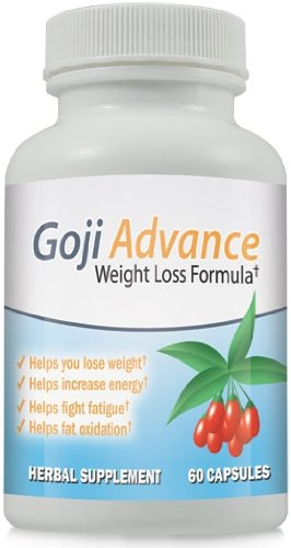 Goji Berry Advance - Goji Berry Weight Loss Health Supplement ~ 4 Bottles