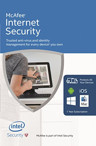 McAfee Internet Security 2016 Unlimited Devices (FFP) (PC/Mac/Android/iOS)