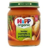 HiPP Organic Tender Carrots & Potatoes 4+ Mths 125G