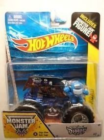 Hot Wheels 2014 Monster Jam #2 Son Uva Digger Includes Monster Jam Figure!