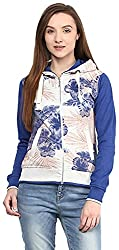 OKANE Women's Long Sleeve Sweatshirt (51754, Royal-milange, L)