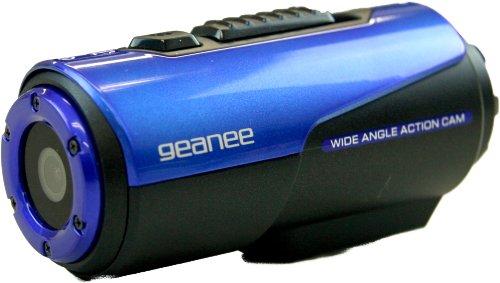 GEANEE【街を駆け抜ける疾走感を映像に 】(ジーニー) フルHD防水アクションカメラ AC-01
