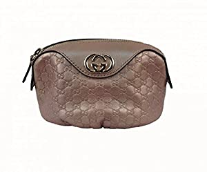 GUCCI Beauty Case Leather with