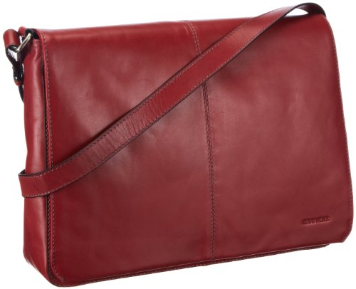 Gerry Weber Flap Bag XL Shoulder Bag Womens Red Rot (red 300) Size: 36x26x8 cm (B x H x T)
