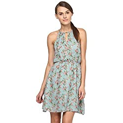 Annapoliss Women's Dresses (ANWDR03_Green_X-Small)
