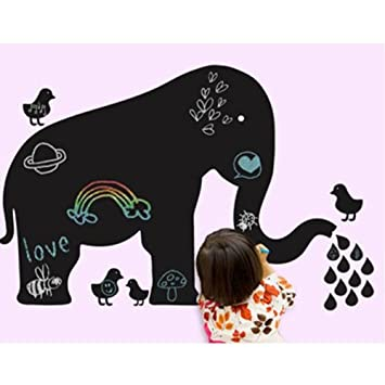 Wall Candy Arts Baby Elephant Chalkboard