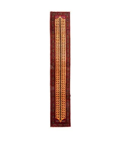 QURAMA Alfombra Persian Mached Rojo/Multicolor 368 x 57 cm