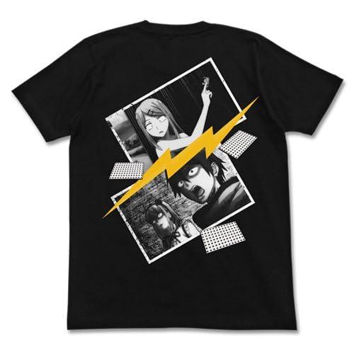 だがしかし サヤ師爆誕 Tシャツ ブラック XLサイズ