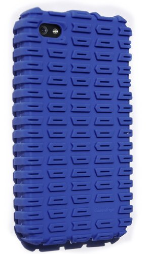 Gumdrop Cases MotoSkin for iPhone 4 (Blue) (Fits AT&T iPhone)