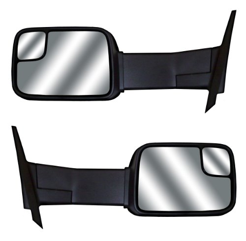 Cipa 71700 Chevrolet/Gmc Magna Extendable Power Replacement Electric Towing Side Mirrors (Sold In Pairs)