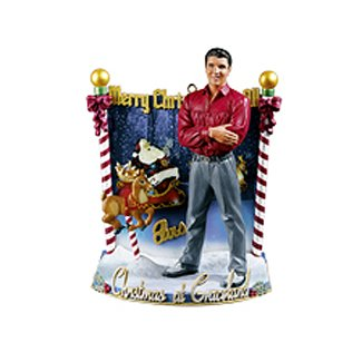 Carlton Heirloom Elvis Presley Christmas at Graceland Music Ornament #CXOR-085R