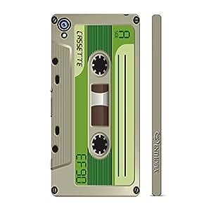 Enthopia Designer Hardshell Case Retro Cassette 8 Back Cover for Sony Xperia Z4