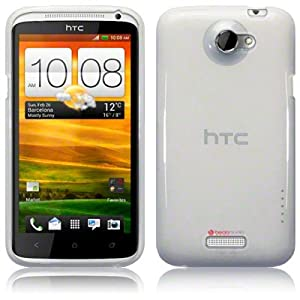 HTC One X TPU Gel Skin Case / Cover - Clear Part Of The Qubits Accessories Range