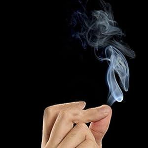 Mystic Finger - Smoke Magic Trick Magic Illusion Stage Close-Up Stand-Up Smoke Magic Tool^.