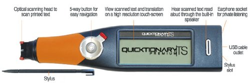 Wizcom Quicktionary Ts Premium Professional Set Scanning Pen