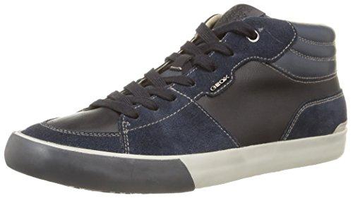 Geox U Smart A, Sneaker, Uomo, Blu (Navy), 42