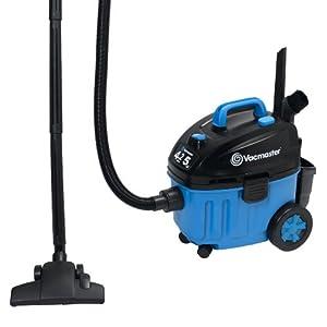 Vacmaster VF408 Wet/Dry Floor Vacuum Powered by 2-Stage Industrial Motor, 4-Gallon, 5 Peak HP by Vacmaster