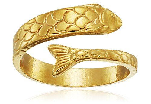 Alex-and-Ani-Ring-Wrap-Fish-Stackable-Ring-Size-5-7