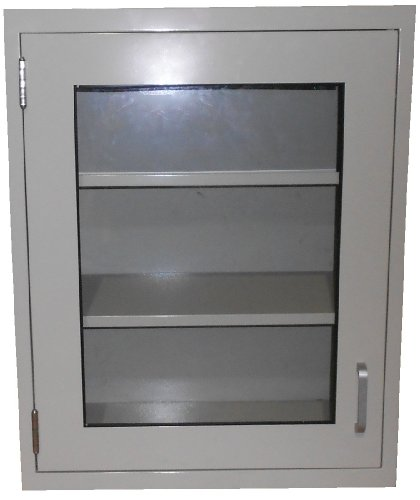 Labdesign 7604 18 steel wall cabinet with hinged framed for 18 x 30 cabinet door