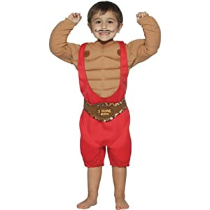 Child Strongman Costume - 4-6