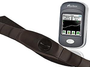 NavGear GPS-Sport- & Outdoor-Computer GO-300.Puls inkl. Pulsgurt