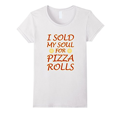 womens-i-sold-my-soul-for-pizza-rolls-graphic-t-shirt-xl-white