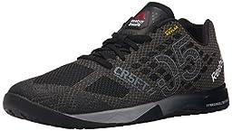 Reebok Men\'s Crossfit Nano 5.0 Training Shoe, Black/Alloy/Tin Grey/Shark, 10 M US