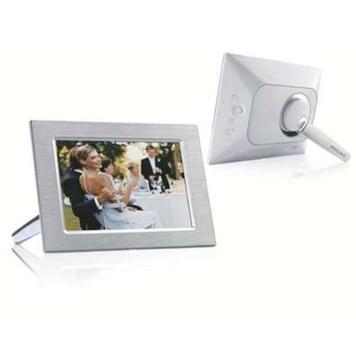 Philips 9.4-Inch Lcd Digital Photo Frame (Metal)