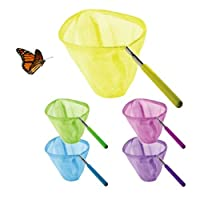 3 Pack Telescopic Butterfly Net Catching Bugs Insect Extendable 34