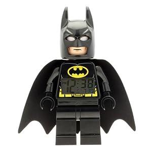 LEGO Kids' 9005718 Super Heroes Batman Alarm Clock