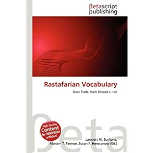 Rastafarian Vocabulary | RM.