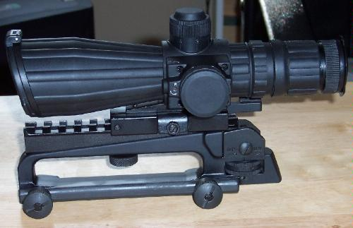 Mark III Rubber Tactical Scope  |  NcStar Scopes