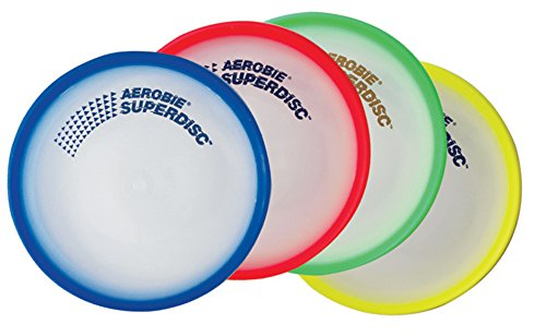 Aerobie Superdisc - Single Unit (Colors May Vary)