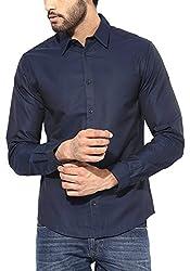 Jack & Jones Men Casual Shirt (5712611328224 Navy Blue XX-Large )