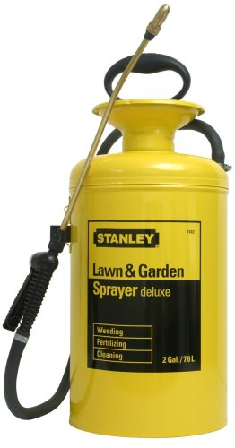 Stanley Lawn and Garden Deluxe Steel 2-Gallon Sprayer 74020