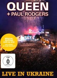Queen - Live in Ukraine-Ltd.ed.(2cd+Dvd) - Zortam Music