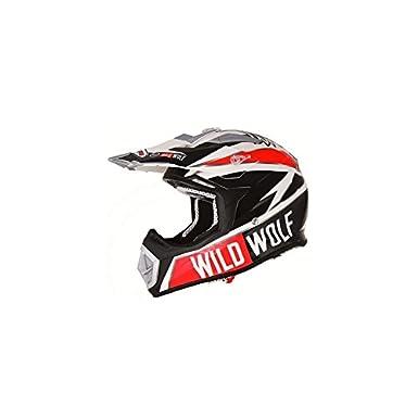 CASQUE CROSS SHIRO MX-912 WILD WOLF CARBONE --REPLICA S